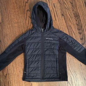 Columbia fleece jacket 6/7